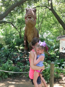 zoo dinosaur